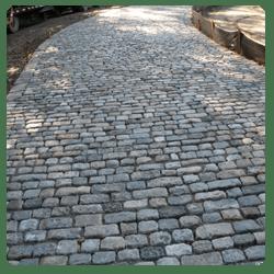 cobblestone driveway in los angeles