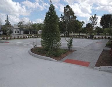 concrete parking lot work