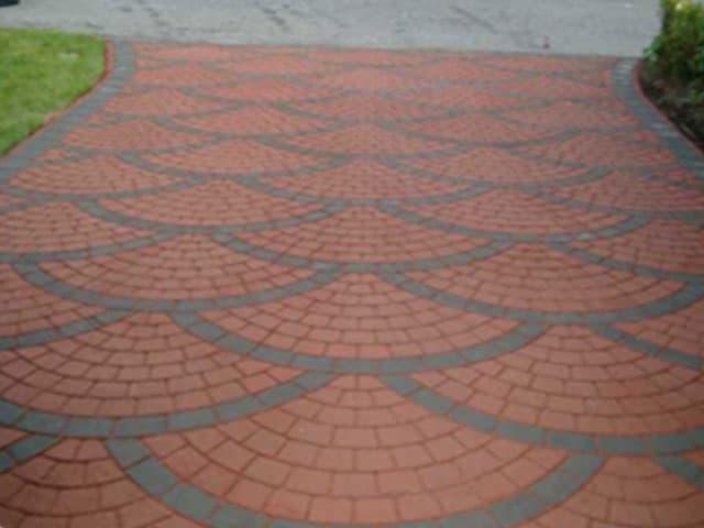 Decorative Bricks Driveway