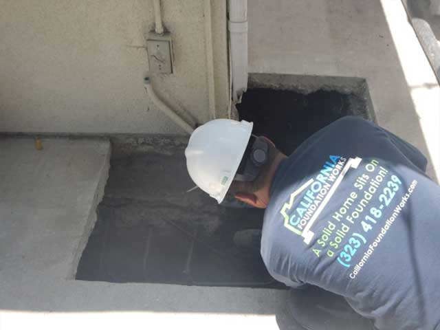 foundation repair Sherman Oaks