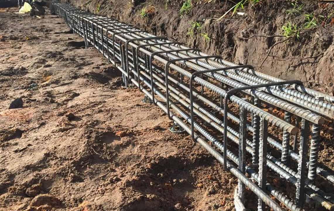 grade beams foundation