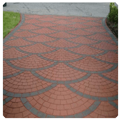 stamped and stained concrete in los angeles