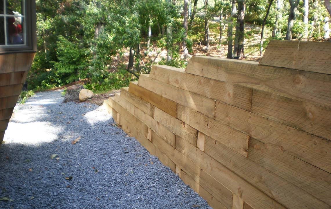 timber retaining walls los angeles